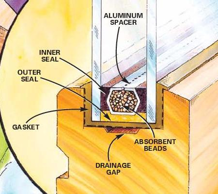 WHY DO INSULATED GLASS SEALS BREAK?